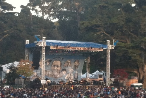 Example #2,714: A free, annual bluegrass festival in the middle of Golden Gate Park.